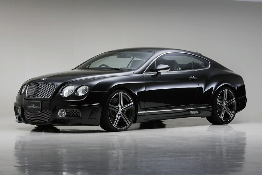 Bentley Continental GTC black #1