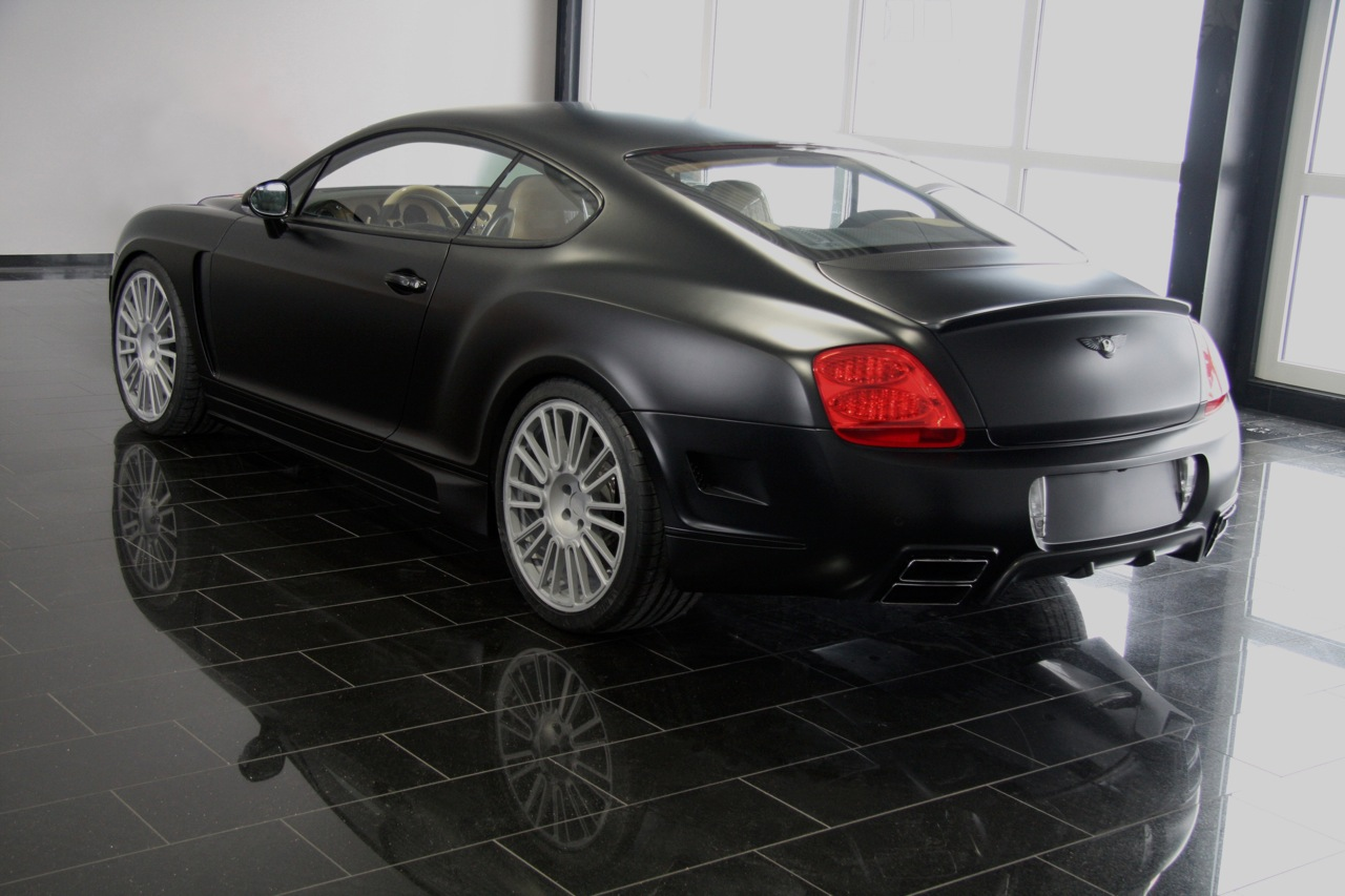 Bentley Continental GTC black #3