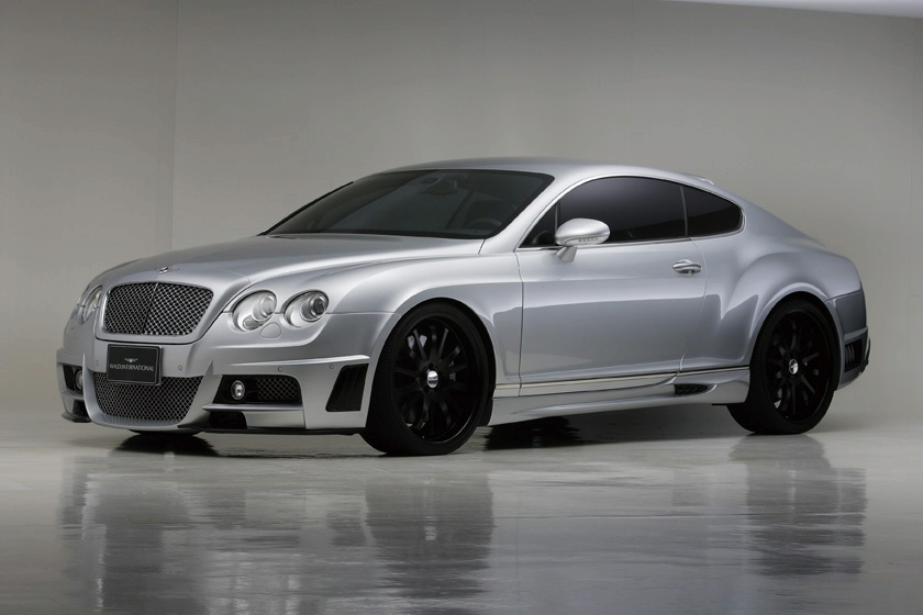 Bentley Continental GTC black #4