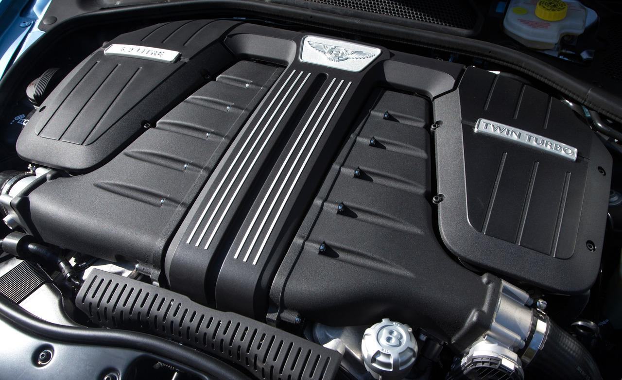 Bentley Continental GTC engine #1