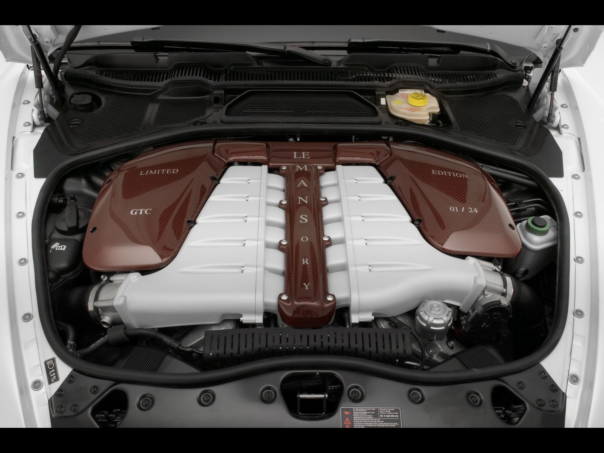 Bentley Continental GTC engine #2