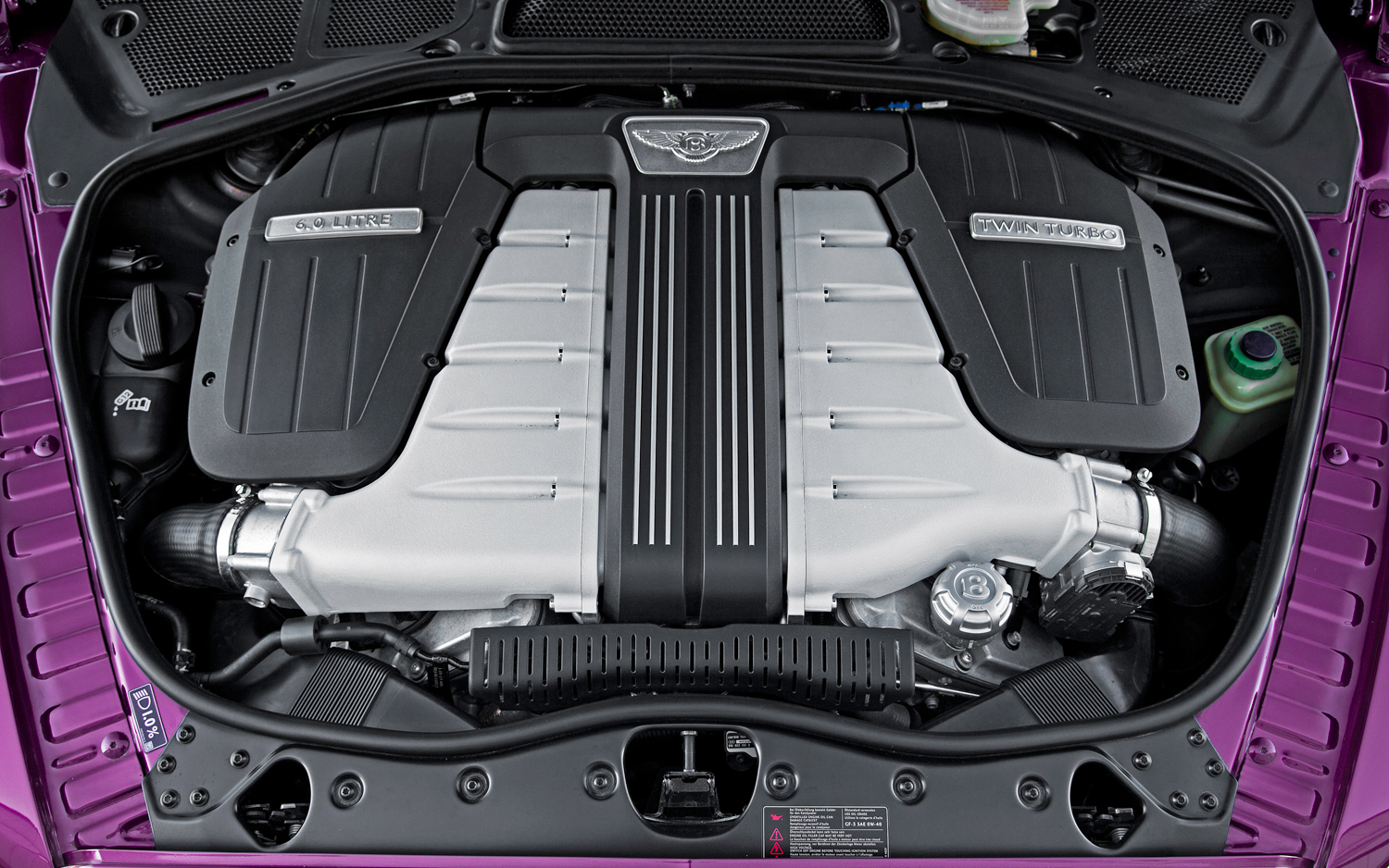 Bentley Continental GTC engine #3
