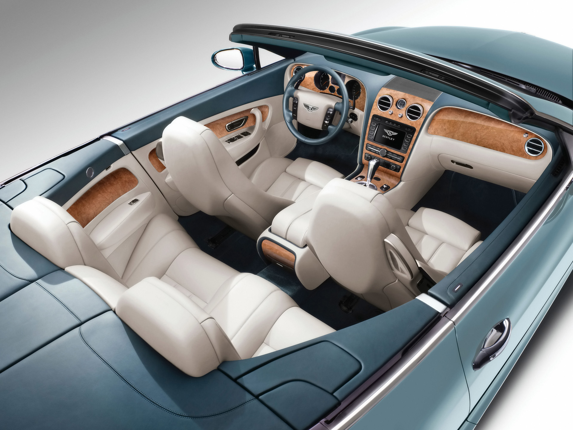 Bentley Continental GTC interior #1