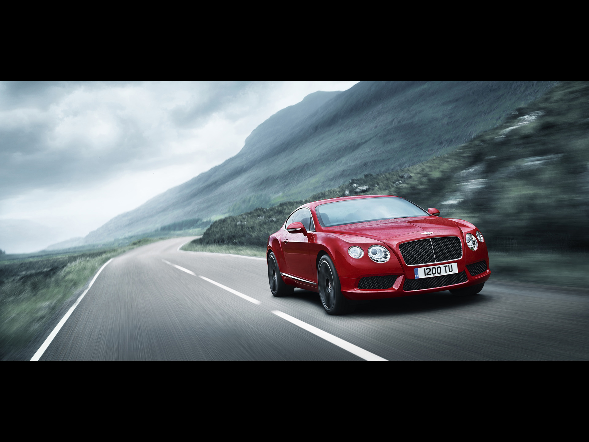 Bentley Continental GTC red #1