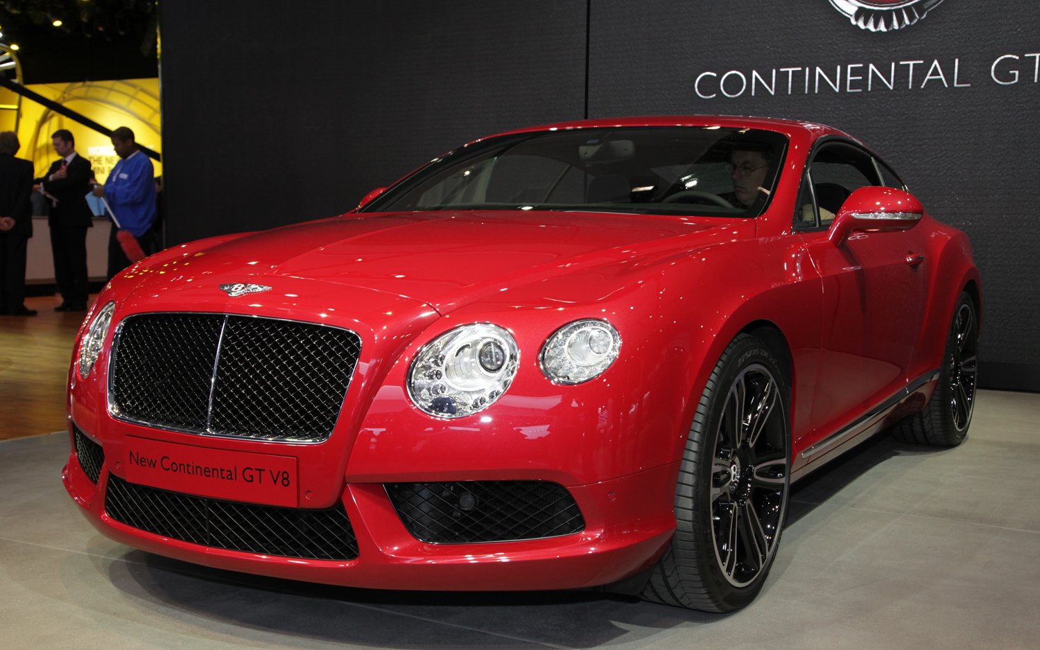 Bentley Continental GTC red #4