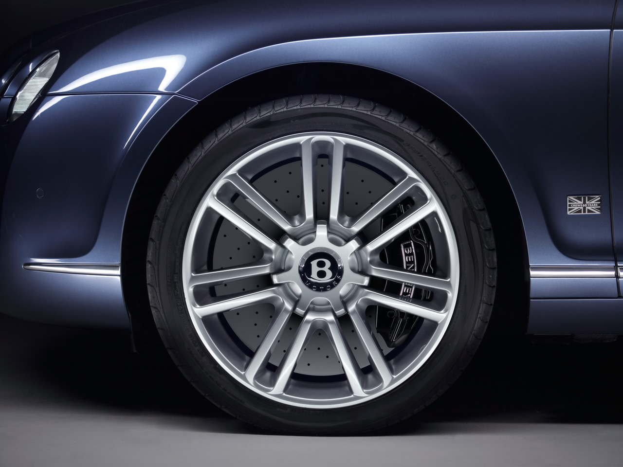 Bentley Continental GTC wheels #3