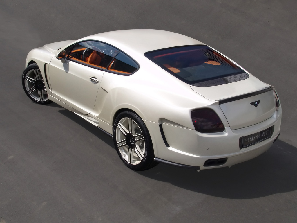 Bentley Continental GTC white #1