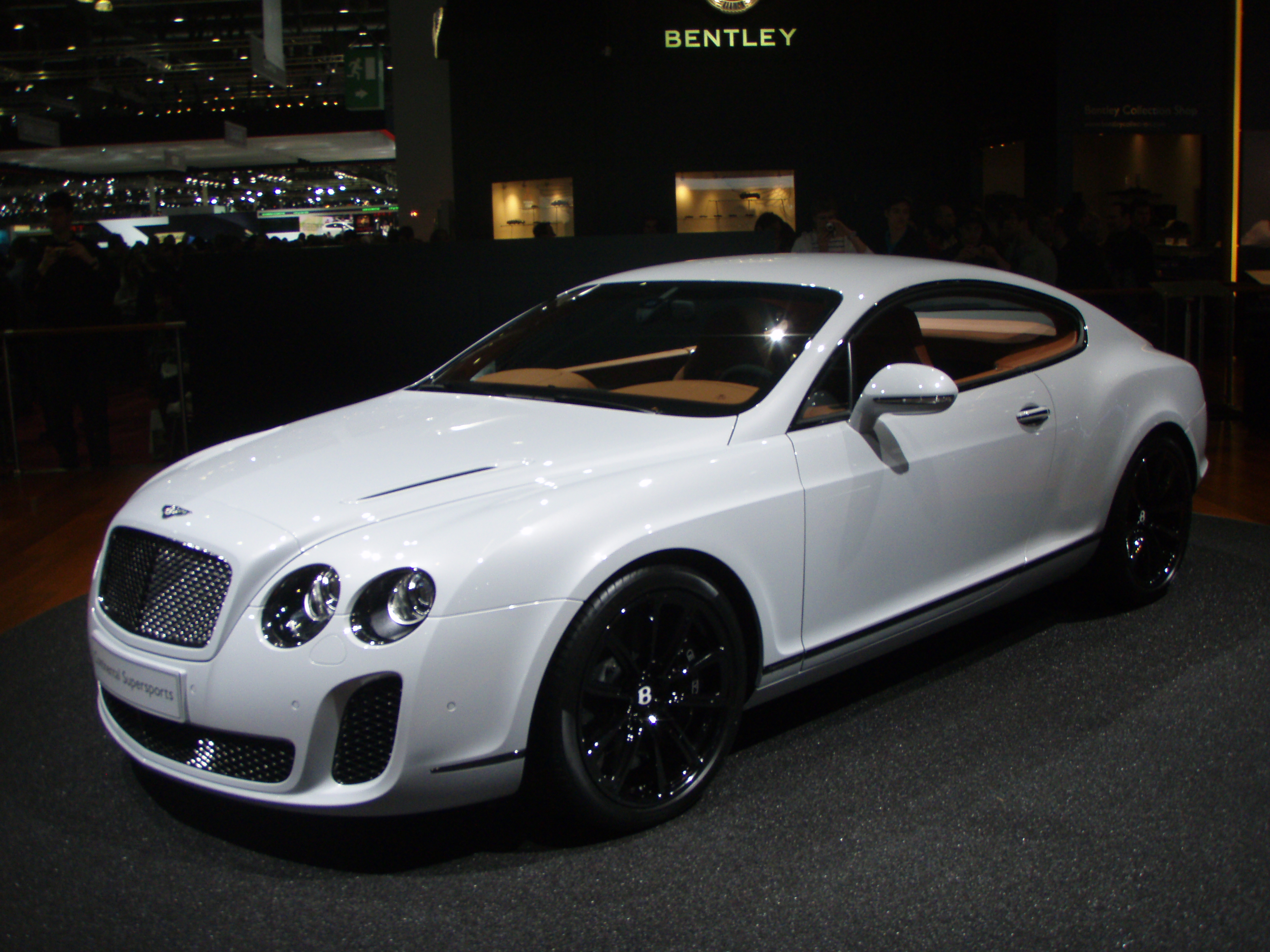 Bentley Continental GTC white #3