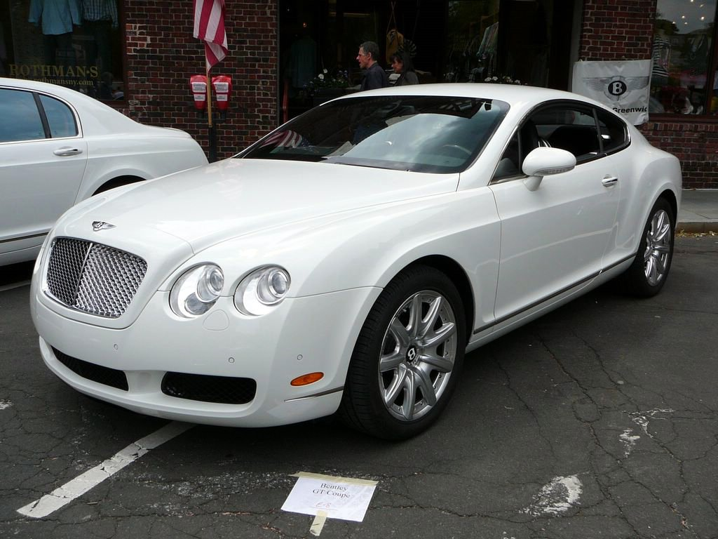 Bentley Continental GTC white #4