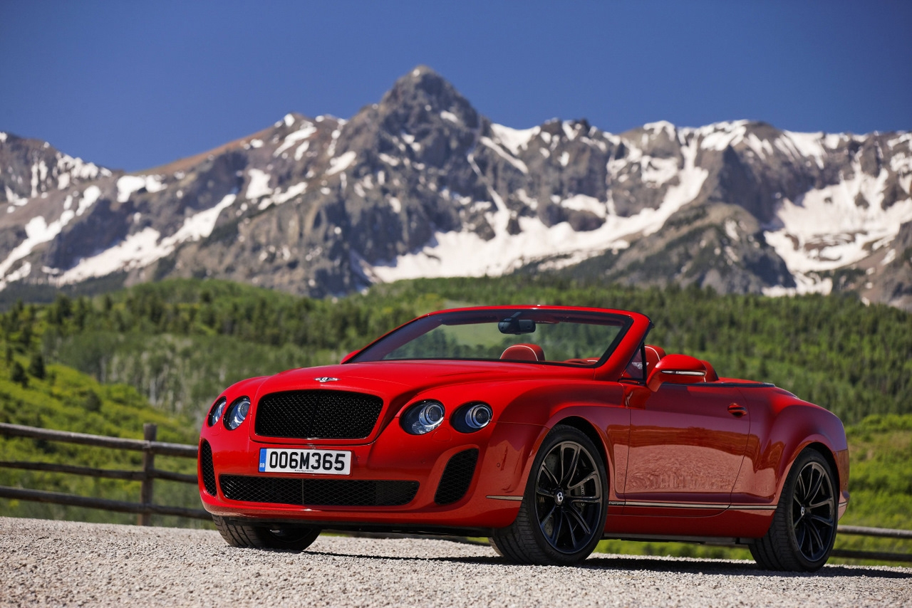 Bentley Continental Supersports Convertible black #3