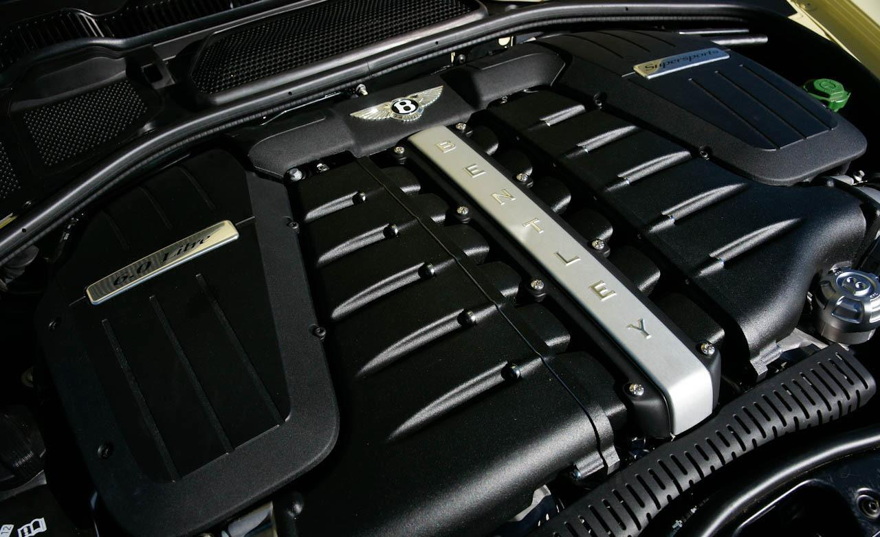 Bentley Continental Supersports Convertible engine #1