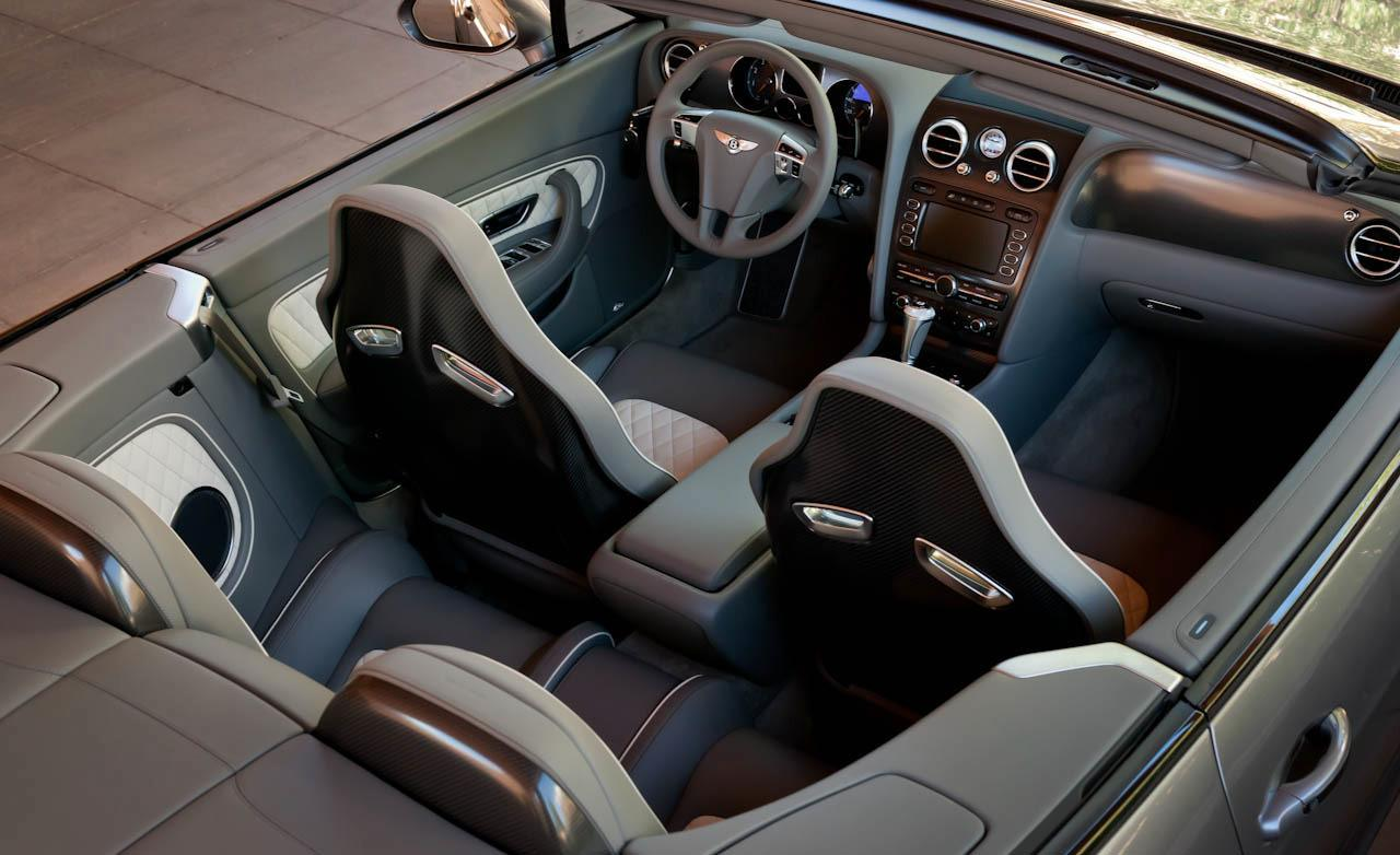 Bentley Continental Supersports Convertible interior #1