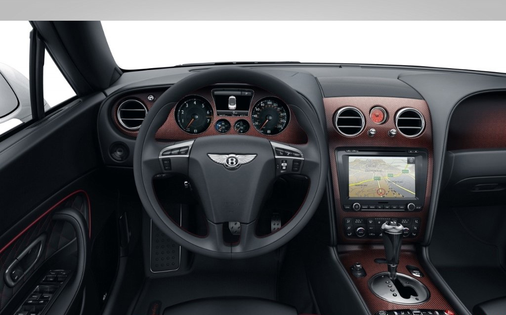 Bentley Continental Supersports Convertible interior #3