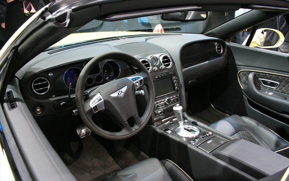Bentley Continental Supersports Convertible interior #4