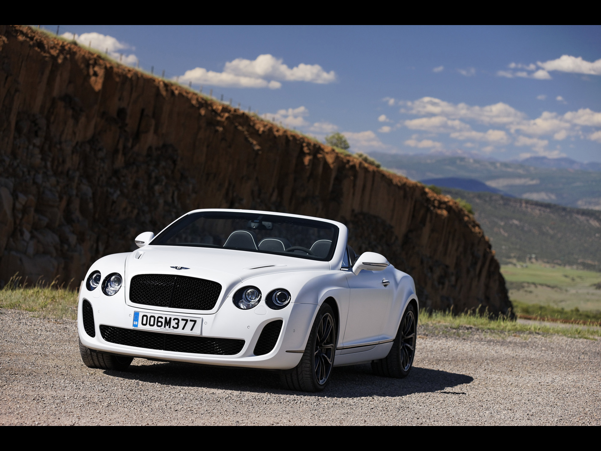 Bentley Continental Supersports Convertible white #3