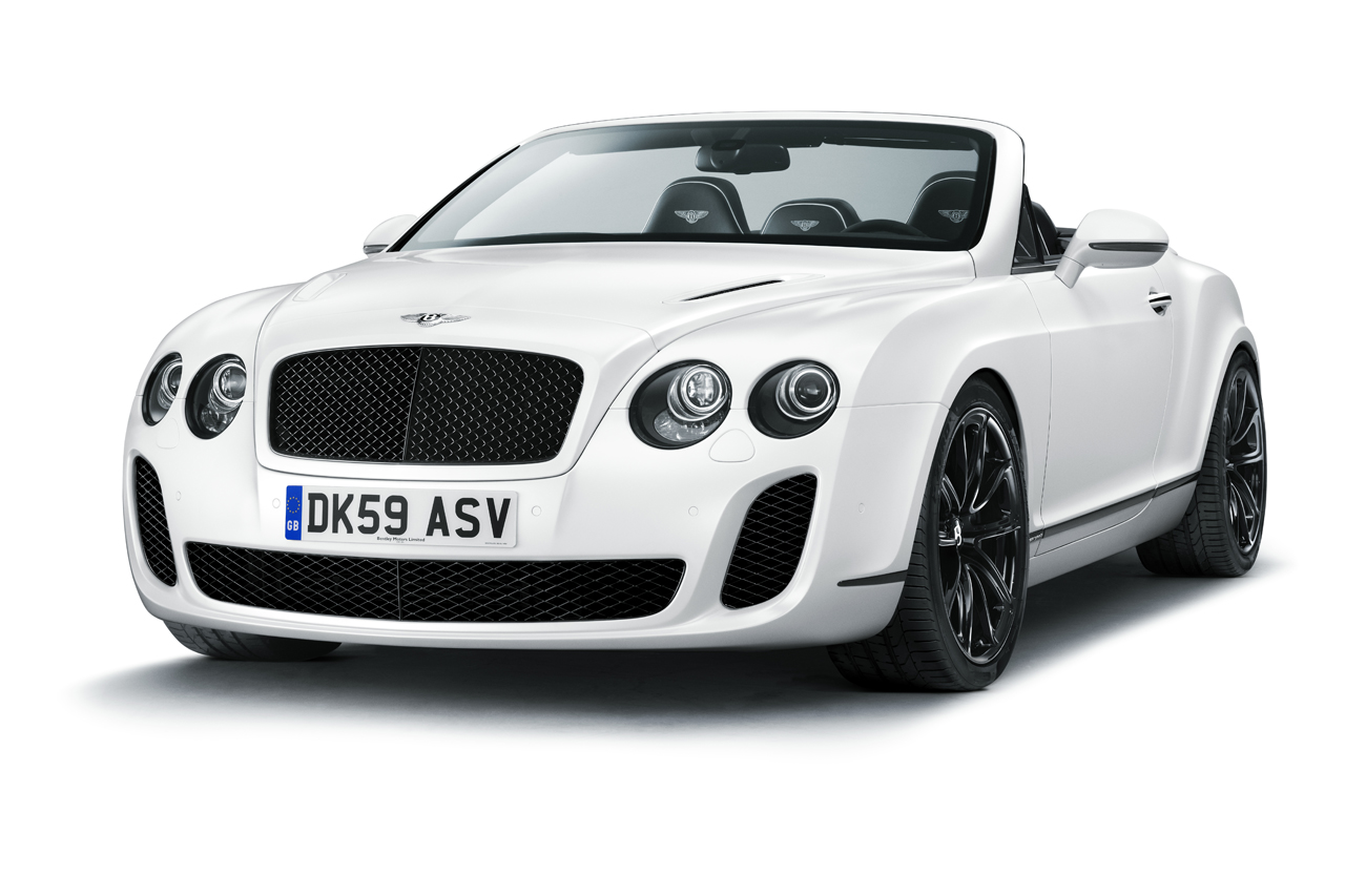 Bentley Continental Supersports Convertible white #4