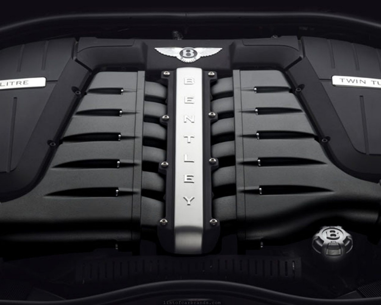 Bentley Flying Spur engine #3