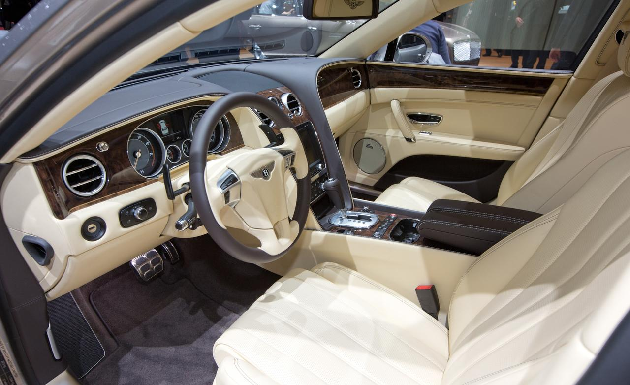 Bentley Flying Spur interior #1