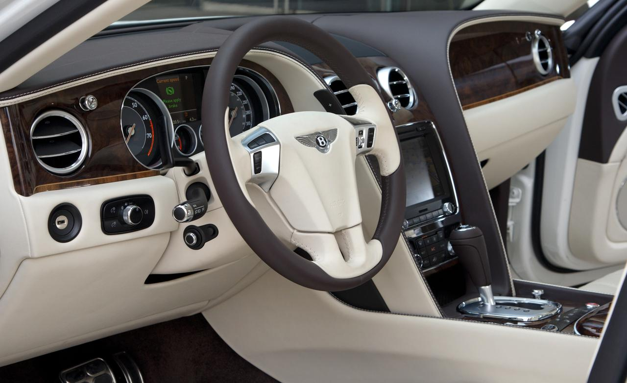 Bentley Flying Spur interior #2