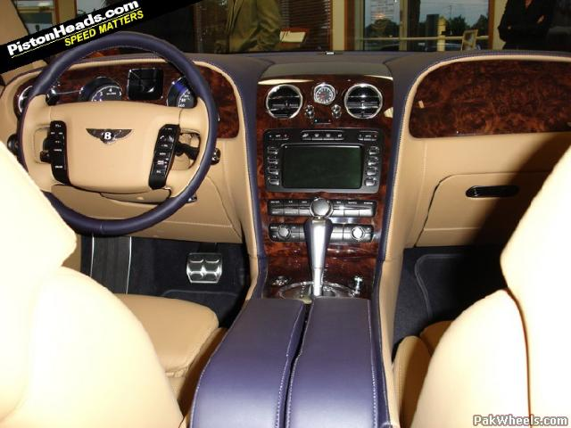 Bentley Flying Spur interior #3