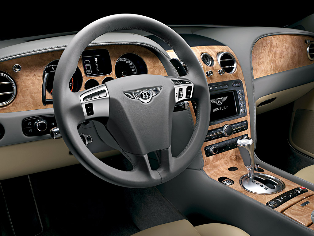 Bentley Flying Spur interior #4