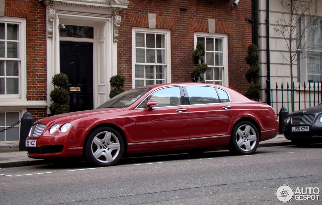 Bentley Flying Spur red #3