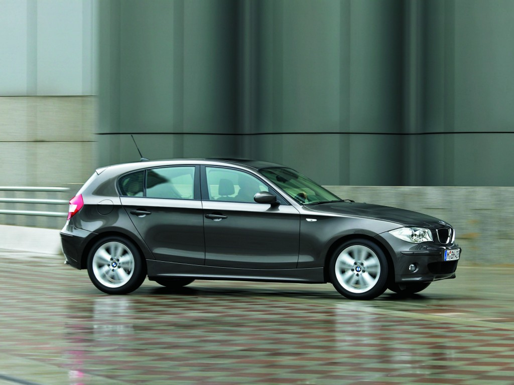 BMW 1 Series black #1
