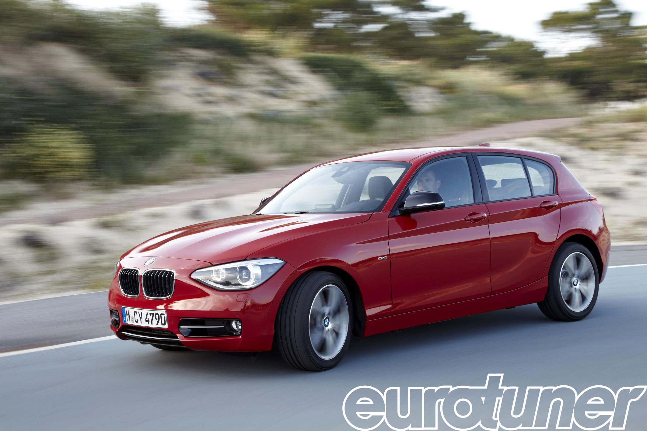 BMW 1 Series red #2