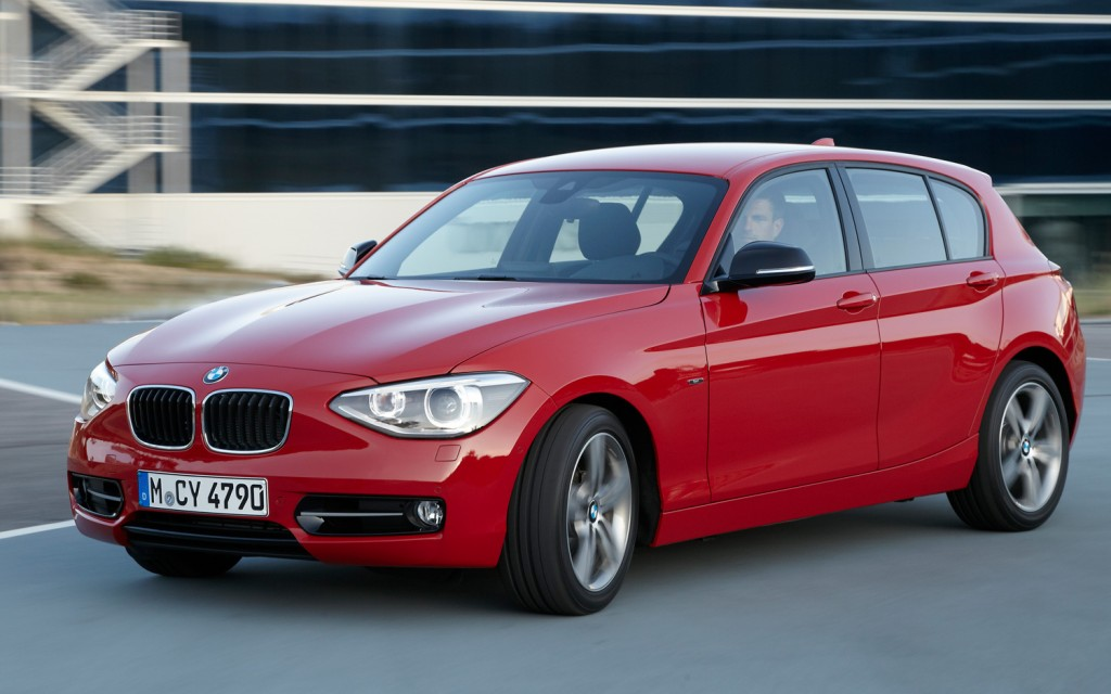 BMW 1 Series red #3