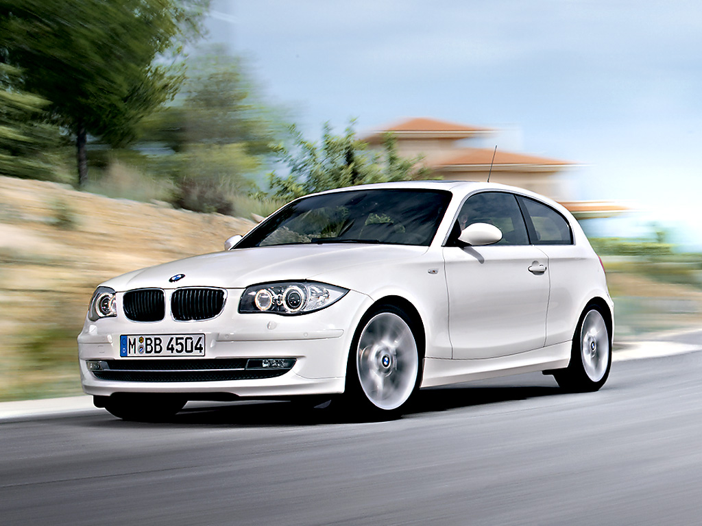 BMW 1 Series white #4