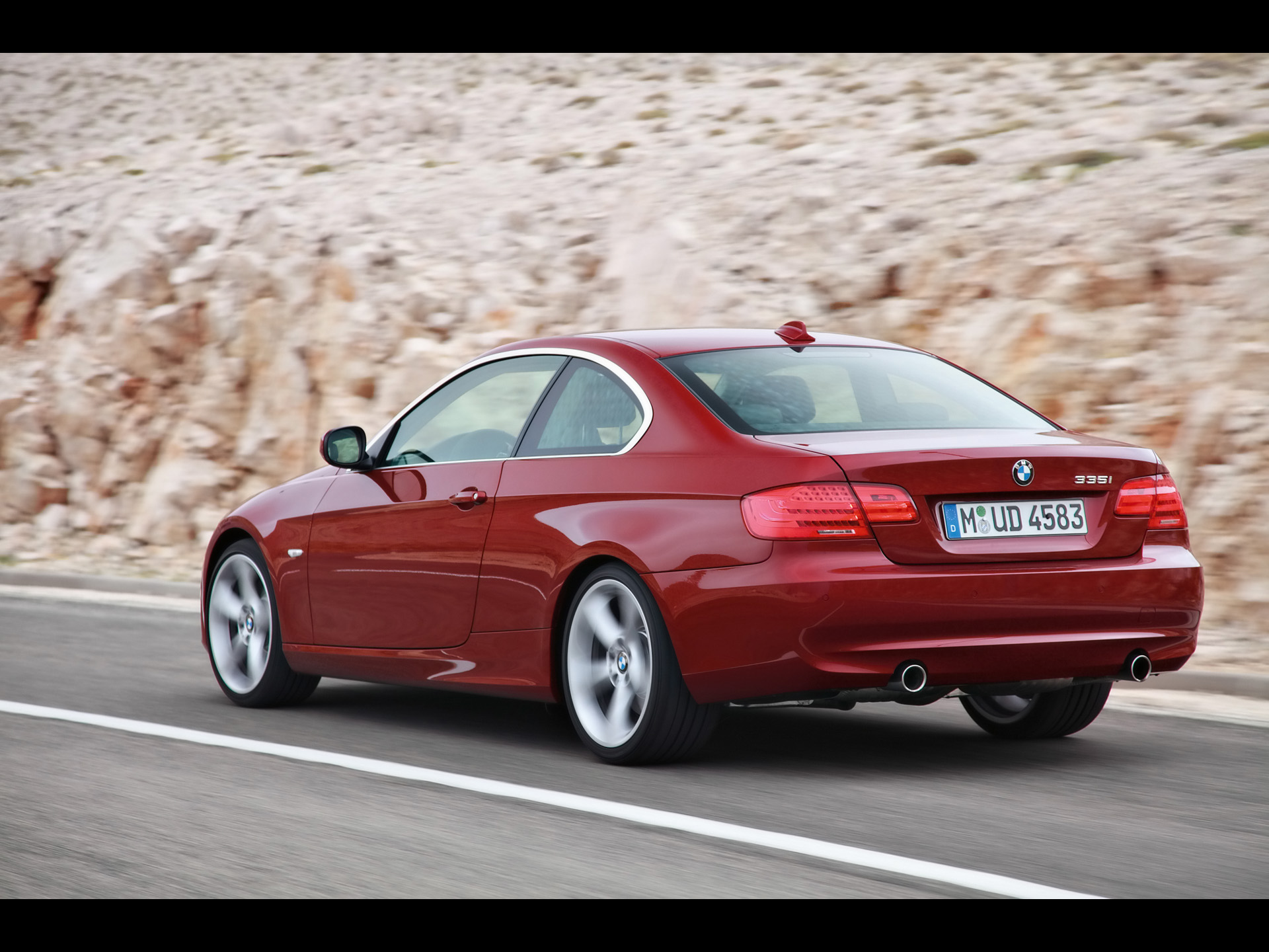 BMW 3 Series red #2