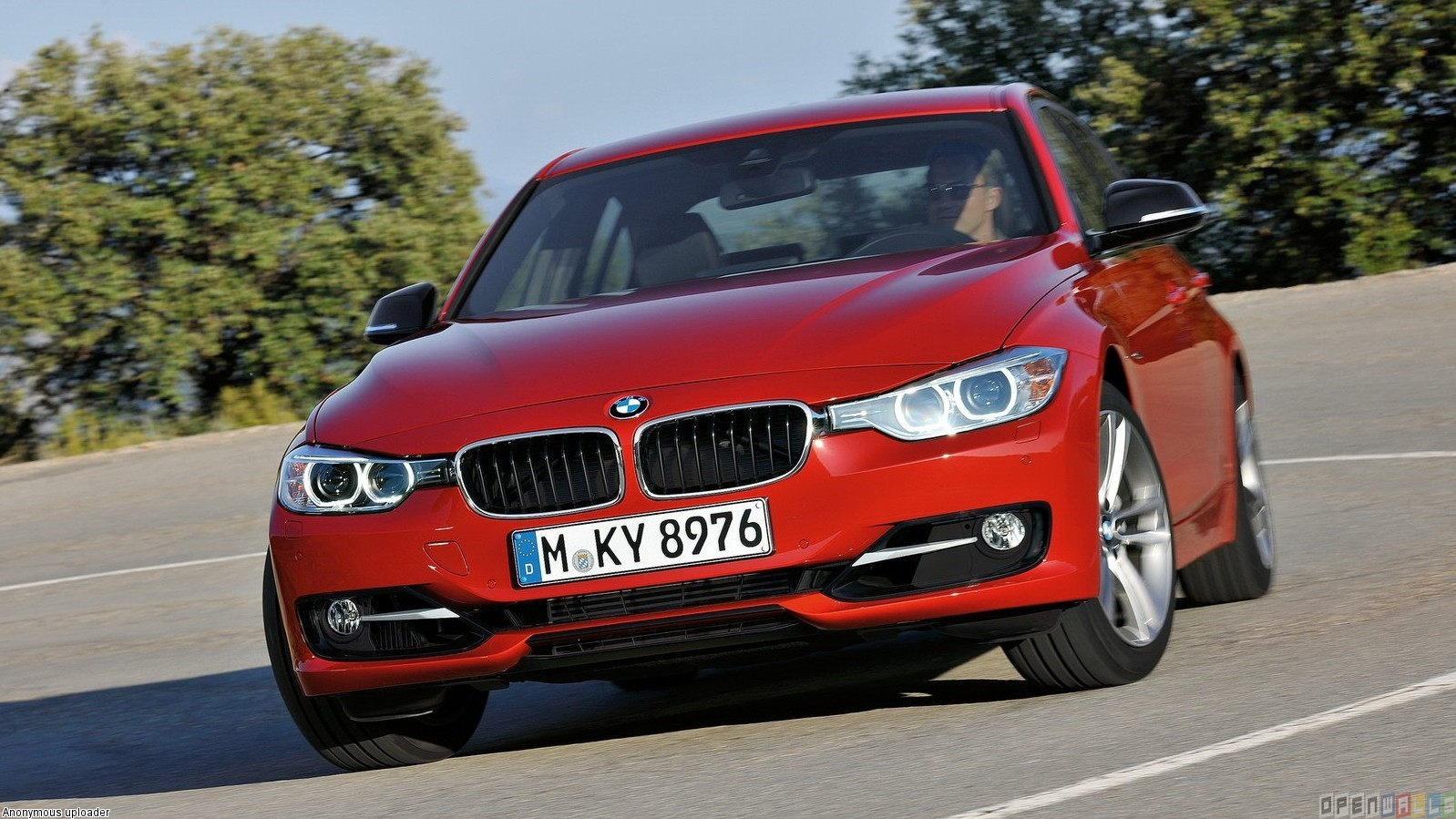 BMW 3 Series red #3