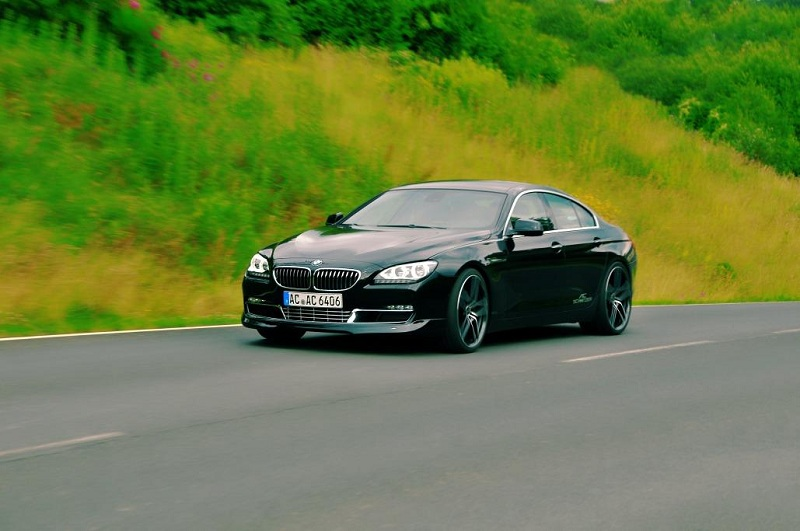 BMW 6 Series Gran Coupe black #1