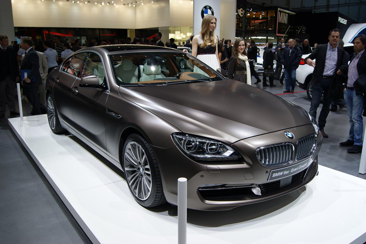 BMW 6 Series Gran Coupe black #2