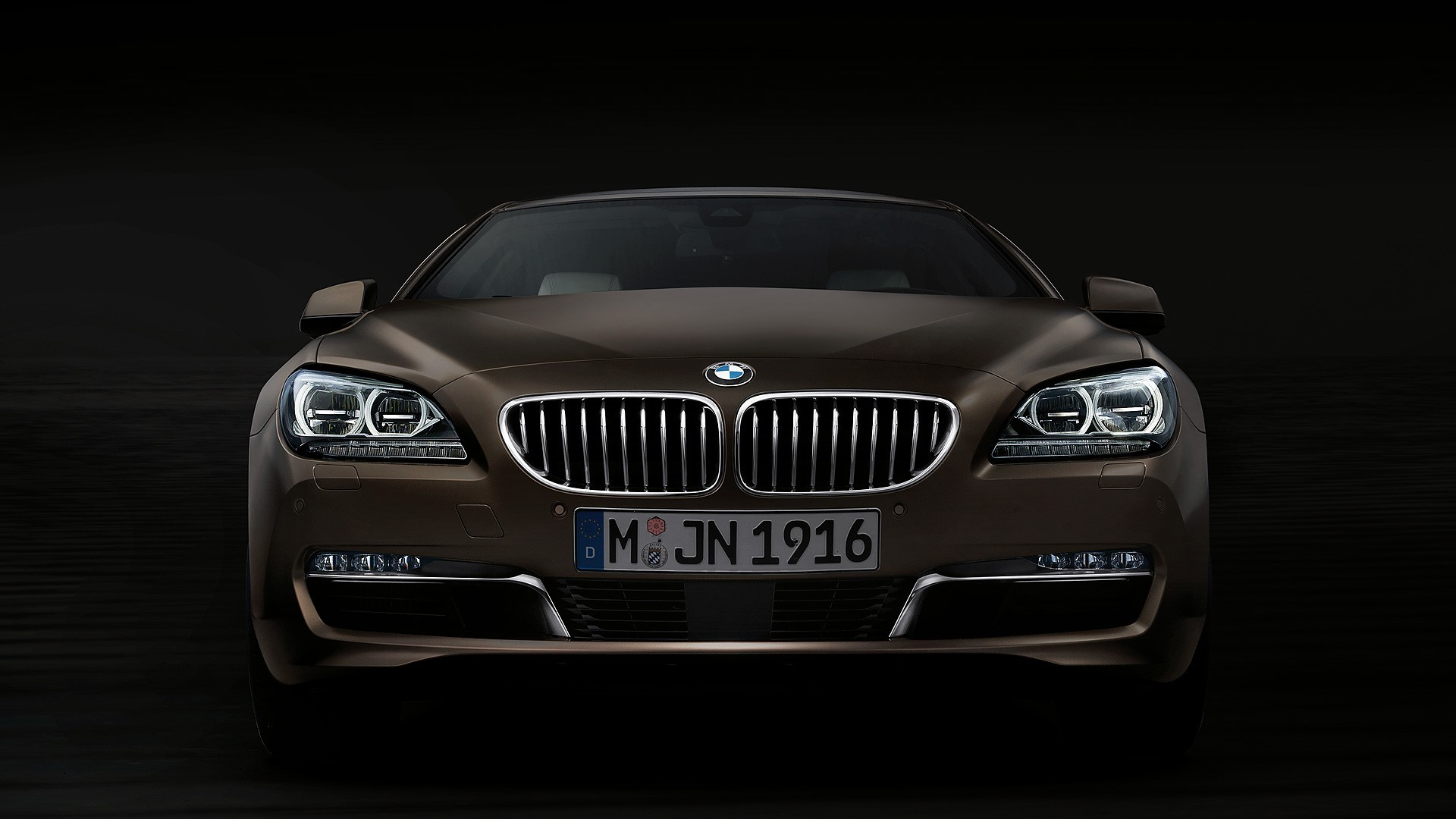 BMW 6 Series Gran Coupe black #4