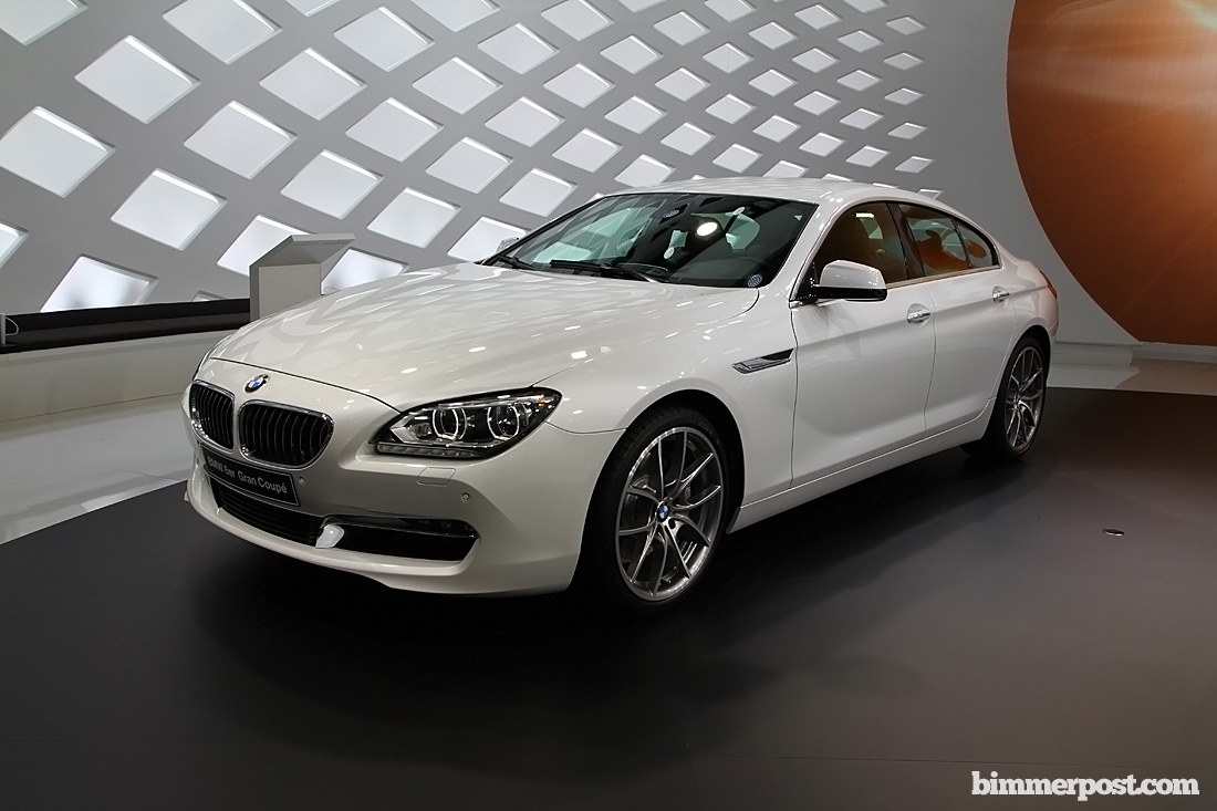 BMW 6 Series Gran Coupe white #2