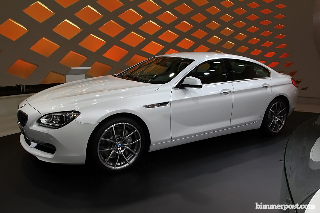 BMW 6 Series Gran Coupe white #3