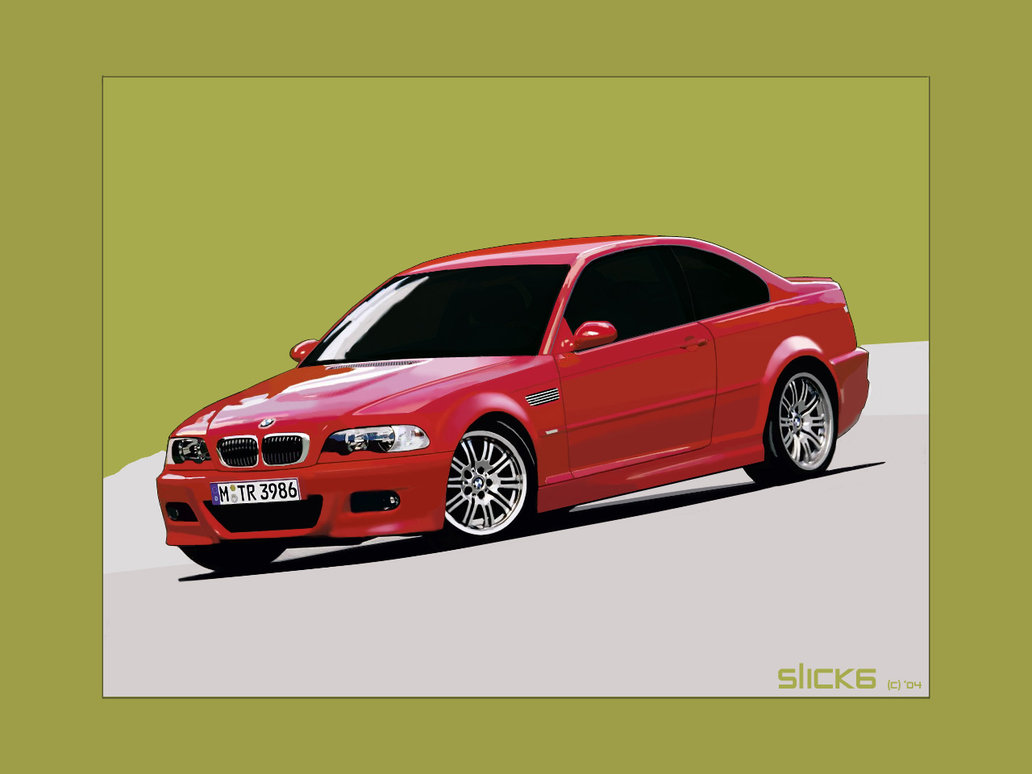 BMW M red #1