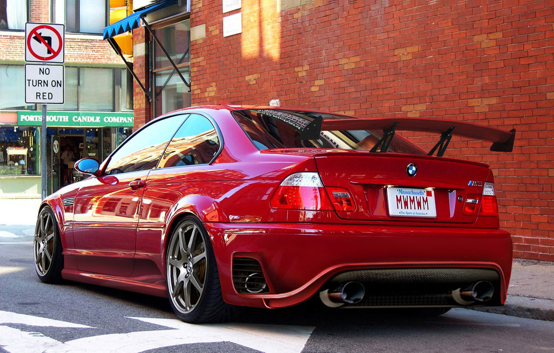 BMW M red #2