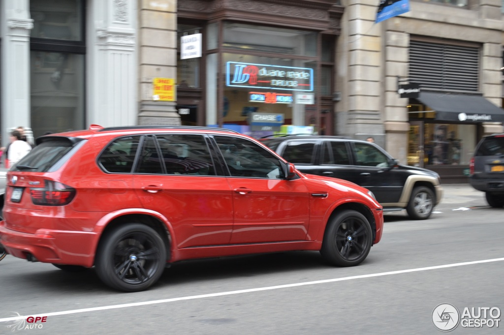 BMW X5 M red #1