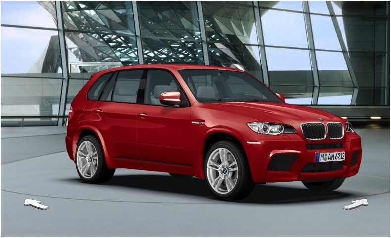 BMW X5 M red #3