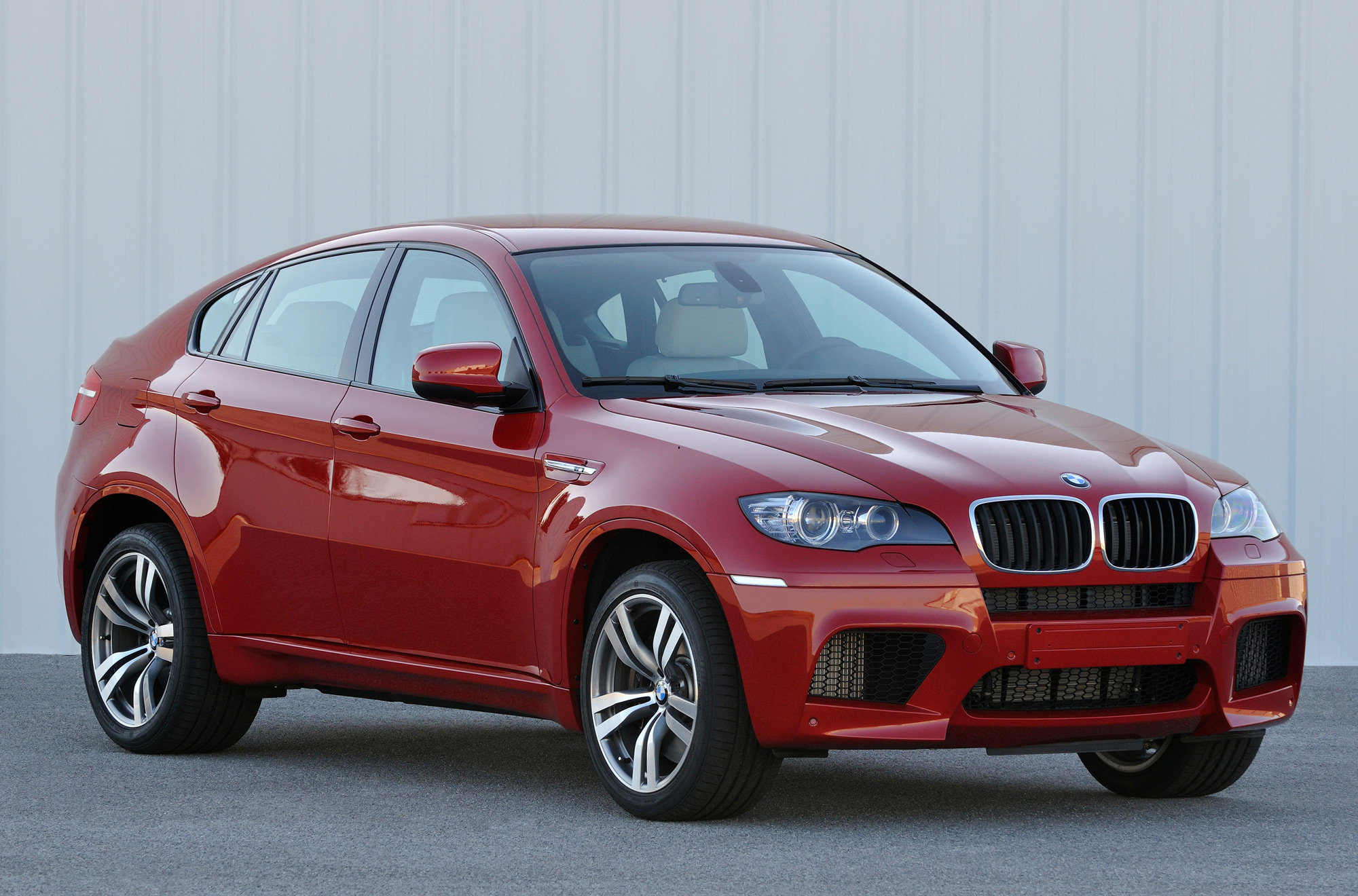 BMW X5 M red #4