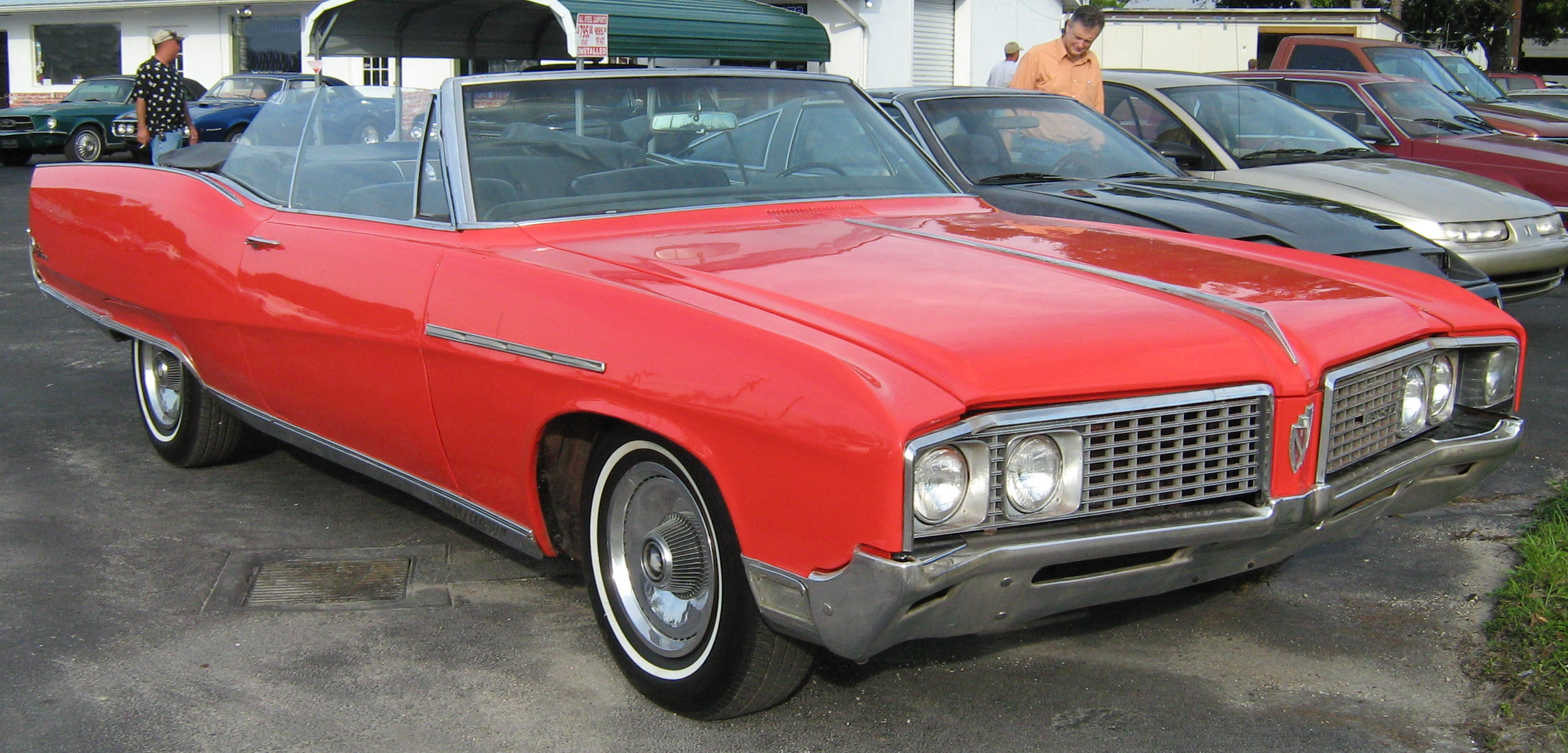 Buick Electra red #2