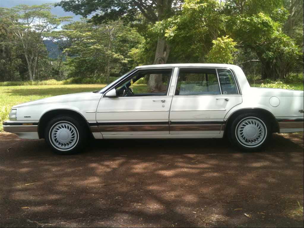 Buick Electra white #1
