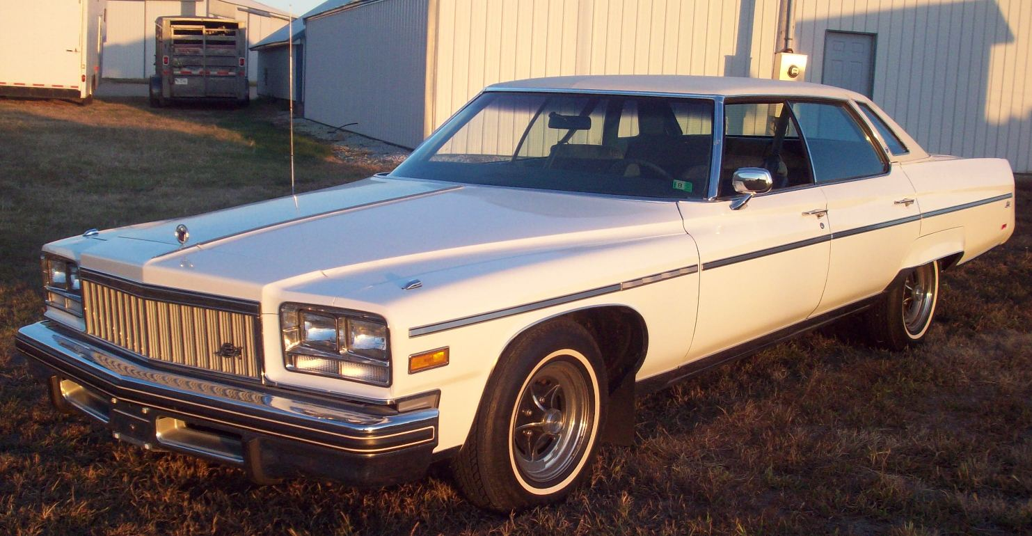 Buick Electra white #2
