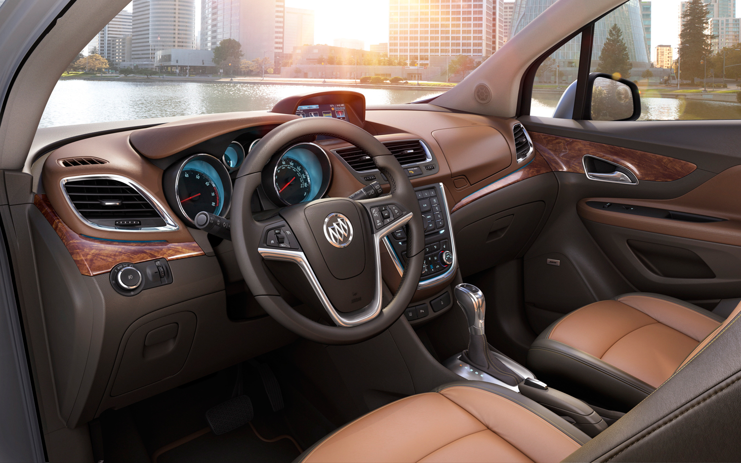 Buick Encore interior #4