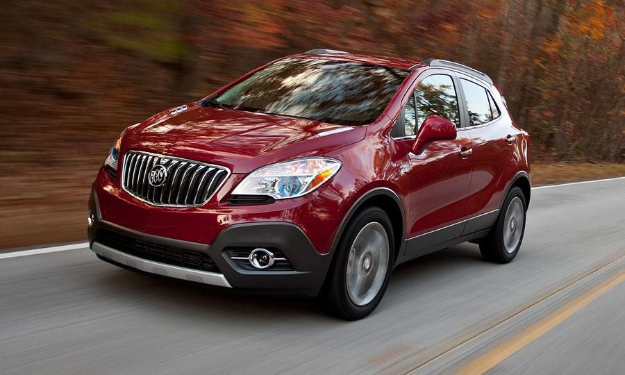 Buick Encore red #1