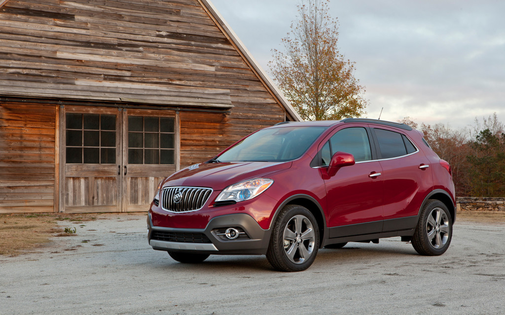 Buick Encore red #2
