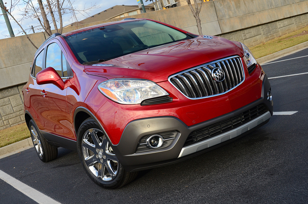 Buick Encore red #4