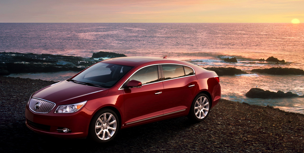 Buick LaCrosse red #1